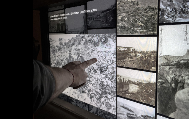 Australian War Memorial, digital displays