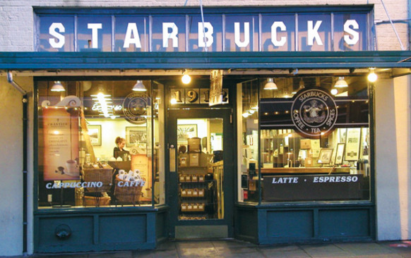 Old Starbucks Store