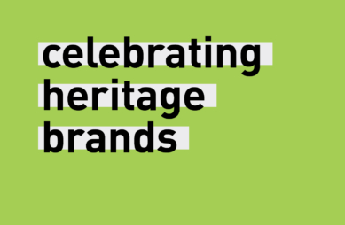 Celebrating heritage brands
