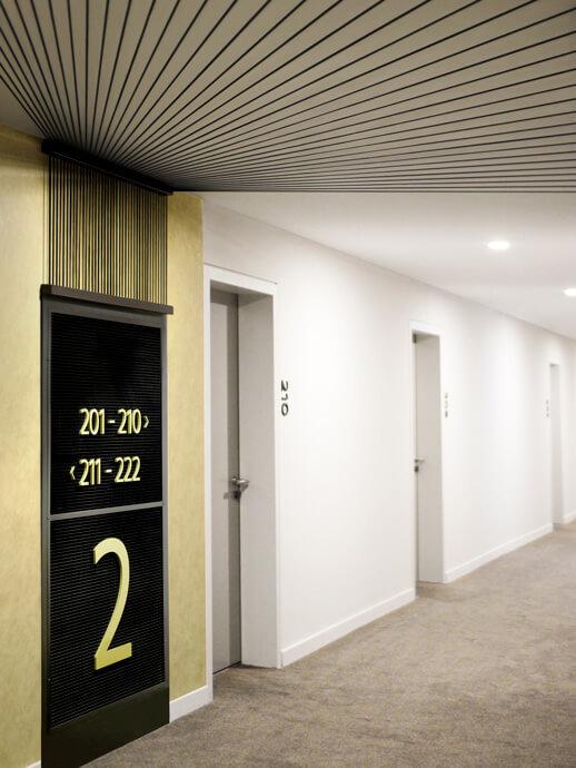 Hotel Signage Design